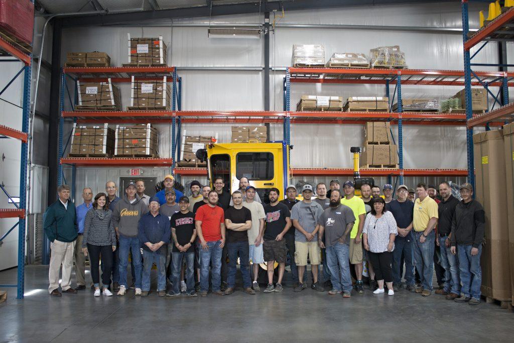 Superior Broom staff, summer 2017